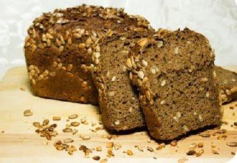 Ржаной московский хлеб с семенами подсолнечника